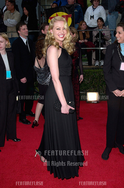 Actress PORTIA DE ROSSI at the 7th Annual Screen Actors Guild Awards in Los Angeles..11MAR2001.   © Paul Smith/Featureflash