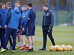 02.04.2019 Rangers training: Steven Gerrard