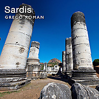 Sardis Ancient Lydian Archaeological site Pictures Photos & images