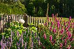 Deutschland, Bayern, Chiemgau, Inzell, Ortsteil Adlgass: beliebtes Ausflugsziel Forsthaus Adlgass - Bauerngarten | Germany, Upper Bavaria, Chiemgau, Inzell, district Adlgass: popular Forester's House Adlgass - farmer's garden