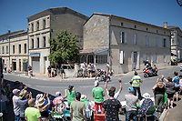 roadside views from Stage 20 (ITT) from Libourne to Saint-Émilion (30.8km): Harry Sweeny (AUS/Lotto Soudal) passing through<br /> <br /> 108th Tour de France 2021 (2.UWT)<br /> <br /> ©kramon