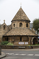 UK, England, Cambridge.  The Round Church, Visitor Center, Deconsecrated.  Formerly the Church of the Holy Sepulchre.