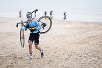 Tim Merlier (BEL/Alpecin-Fenix)<br /> <br /> UCI 2021 Cyclocross World Championships - Ostend, Belgium<br /> <br /> Elite Men's Race<br /> <br /> ©kramon