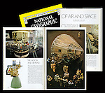 """National Geographic Magazine featured a story on The National Air and Space Museum written by astronaut Col. Michael Collins. The lede photo and another resulted from my own time after hours of performing the regular internship duties under the guidance of Robert Gilka, the Director of Photography. Mr. Gilka had simply wrote a memo saying, """"Show me what's in the Air and Space Museum,"""" as his way of giving me the assignment. I spent every opportunity of my own time after office hours for the next six weeks to do my best work."""