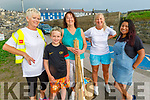Bridie Chute, Jack Kearney, Janie Williams, Irene Ayala and Maggie Hayes attending the Pattern Day in Ballybunion on Saturday.
