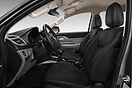 Front seat view of 2017 Fiat Fullback Sport Pack 4 Door Pick Up front seat car photos
