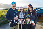 Keely, Lyndsey, Kayden and Shaun O'Shea from Tralee enjoying a stroll in Blennerville on Sunday.
