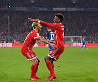 27.01.2018,  Football 1.Liga 2017/2018, 20. match day, FC Bayern Muenchen - TSG 1899 Hoffenheim, in Allianz-Arena Muenchen.  v.li: Rafinha (FC Bayern Muenchen), Kingsley Coman (Bayern Muenchen). *** Local Caption *** © pixathlon<br /> <br /> +++ NED + SUI out !!! +++<br /> Contact: +49-40-22 63 02 60 , info@pixathlon.de