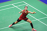 Carolina Marin of Spain competes against Tai Yzu Ying of Chinese Taipei during their Women's Singles Semi-Final of YONEX-SUNRISE Hong Kong Open Badminton Championships 2016 at the Hong Kong Coliseum on 26 November 2016 in Hong Kong, China. Photo by Marcio Rodrigo Machado / Power Sport Images