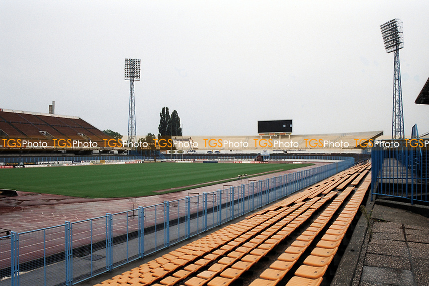 General view of NK Zagreb Football Ground, Stadion Kranjceviceva, Zagreb, Croatia