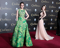 """LOS ANGELES - MAR 1:  Sophie McShera, Holliday Grainger at the """"Cinderella"""" World Premiere at the El Capitan Theater on March 1, 2015 in Los Angeles, CA"""