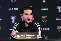 SEATTLE, WA - NOVEMBER 7: Nicolas Lodeiro #10 of the Seattle Sounders FC at Grand Hyatt Seattle on November 7, 2019 in Seattle, Washington.