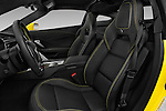Front seat view of 2018 Chevrolet Corvette Z06-Coupe-1LZ 3 Door Targa Front Seat  car photos
