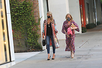 Kathy And Nicky Hilton Spotted Walking In Beverly Hills