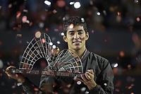 Rio de Janeiro (RJ), 23/02/2020 - Rio Open 2020 - O tenista Cristian Garin (CHI), conquista o titulo do Rio Open 2020, etapa ATP 500 do circuito mundial de Tenis, no Jockey Club Brasileiro no Rio de Janeiro (RJ), nesta domingo (23). (Foto: Andre Fabiano/Codigo 19/Codigo 19)