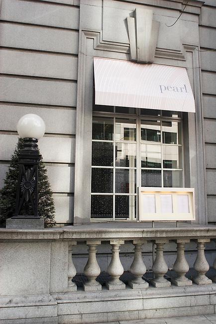 Exterior, Pearl Restaurant, Covent Garden, London, Great Britain, Europe