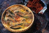 Cuisine/Gastronomie Generale:Tarte aux piments et à l'orange
