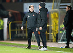Dundee United v St Johnstone...12.03.14    SPFL<br /> A raging Jackie McNamara<br /> Picture by Graeme Hart.<br /> Copyright Perthshire Picture Agency<br /> Tel: 01738 623350  Mobile: 07990 594431
