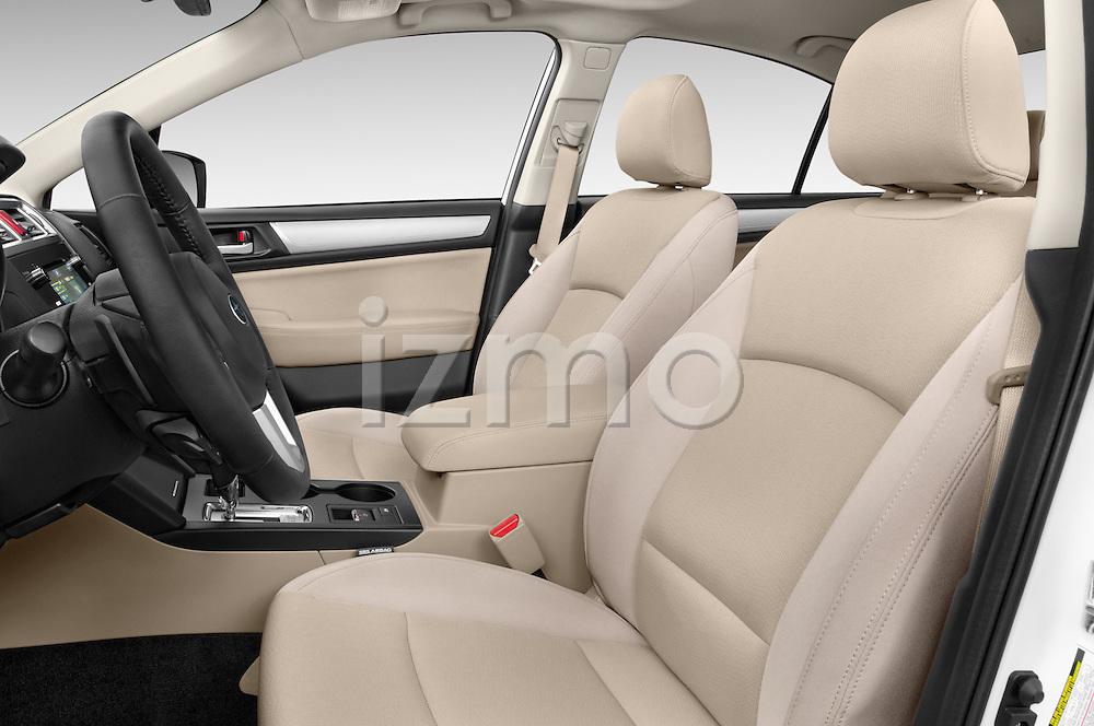 Front seat view of a 2015 Subaru Legacy 2.5I Premium 4 Door Sedan 2WD Front Seat car photos