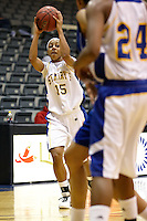 SAN ANTONIO , TX - DECEMBER 1, 2009: The Our Lady of the Lake University Saints vs. the St. Mary's University Lady Rattlers Women's Basketball at the Bill Greehey Arena. (Photo by Jeff Huehn)