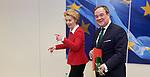 200131: Ursula VON DER LEYEN receives Armin LASCHET