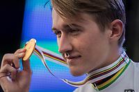 Mikkel Bjerg (DEN) is the new U23 men's iTT World Champion<br /> <br /> Men Under-23 Individual Time Trial<br /> <br /> UCI 2017 Road World Championships - Bergen/Norway