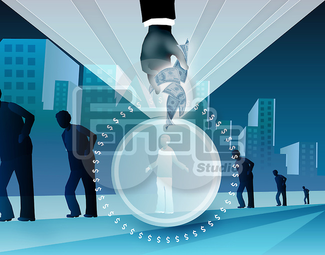 Illustration representing benefits of health insurance