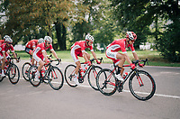 Team Cofidis at the helm<br /> <br /> 59th Grand Prix de Wallonie 2018 <br /> 1 Day Race from Blegny to Citadelle de Namur (BEL / 206km)