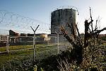 Buncefield Oil Depot Blast Disater happened on December 11, 2005. Pictured here one year on. Hemel Hempstead, UK. December 6, 2006..Copyright Photo: Helen Atkinson +44 7976 265253