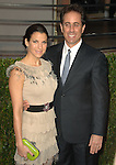 Jessica Seinfeld & Jerry Seinfeld attends The 2010 Vanity Fair Oscar Party held at The Sunset Tower Hotel in West Hollywood, California on March 07,2010                                                                                       © 2010 DVS / RockinExposures..