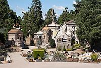 Milano, Cimitero Monumentale --- Milan, Monumental Cemetery