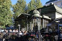 Cafè Kappeli auf der Eteläesplanadi; Helsinki, Finnland
