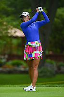 16th July 2021, Midland, MI, USA;  Maria Fassi (MEX) watches her tee shot on 2 during the Dow Great Lakes Bay Invitational Rd3 at Midland Country Club on July 16, 2021 in Midland, Michigan.