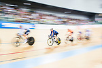 Sarah Hammer of USA competes in the Women's Points Race 25 km Final during the 2017 UCI Track Cycling World Championships on 16 April 2017, in Hong Kong Velodrome, Hong Kong, China. Photo by Marcio Rodrigo Machado / Power Sport Images