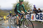 Pierre Rolland (FRA) Team Europcar, Vasil Kiryienka (BLR) Team Movistar and Dario Cataldo (ITA) Omega Pharma-Quick Step lead the way up the Cote de la Redoute during the 98th edition of Liege-Bastogne-Liege, running 257.5km from Liege to Ans, Belgium. 22nd April 2012.  <br /> (Photo by Eoin Clarke/NEWSFILE).