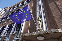 Nederland Den Haag -  maart 2021. Het Huis van Europa. Informatiepunt over Europa.    Foto ANP / Hollandse Hoogte /  Berlinda van Dam