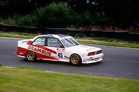 Round 9 of the 1991 British Touring Car Championship. #45 Ian Forrest (GB). Drambuie Racing. BMW M3.