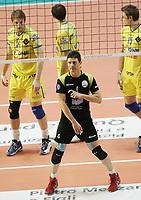 Manuel Coscione (Roma)<br /> <br /> M.Roma Volley vs Cimone Modena 3-2<br /> <br /> Campionato di Pallavolo serie A 2007/2008.<br /> <br /> PalaTiziano, Roma, 17 Febraio 2008.<br /> <br /> Photo Antonietta Baldassarre Insidefoto