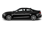 Car Driver side profile view of a 2019 Audi S5 Premium-Plus 2 Door Coupe Side View