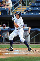 Staten Island Yankees outfielder Danny Oh (58) during game against the Hudson Valley Renegades at Richmond County Bank Ballpark at St.George on June 24, 2012 in Staten Island, NY.  Staten Island defeated Hudson Valley 9-1.  Tomasso DeRosa/Four Seam Images