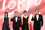 Kanna Hashimoto, Hiroshige Seko, Kumiko Hayashi, October 25, 2017 - The 30th Tokyo International Film Festival, Opening Ceremony at Roppongi Hills in Tokyo, Japan on October 25, 2017. (Photo by 2017 TIFF/AFLO)