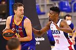 Liga ENDESA 2020/2021. Jornada: 32.<br /> FC Barcelona vs Baxi Manresa: 97-89.<br /> Pau Gasol vs Yankuba Sima.