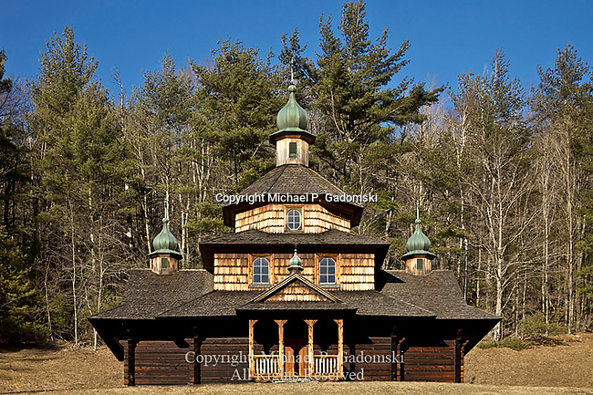 St. John the Baptist Ukrainian Cathlolic Church, Jewett Center, Greene County, New York