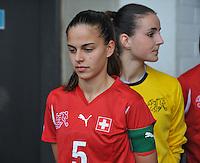 UEFA Women's Under 17 Championship - Second Qualifying round - group 1 : Switzerland - Belgium  : .Alessa Castignetti.foto DAVID CATRY / Vrouwenteam.be