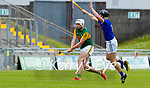Jason Diggin, Kerry in action against Mikey Lee, Wicklow in the Allianz National Hurling League Division 2A Round 4 at Austin Stack Park, Tralee on Saturday.