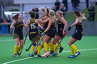 Action from the women's premier one Wellington Hockey final between Hutt United and Dalefield at National Hockey Stadium in Wellington, New Zealand on Saturday, 26 September 2020. Photo: Dave Lintott / lintottphoto.co.nz