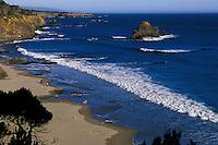 California, Mendocino County, Anchor Bay Beach