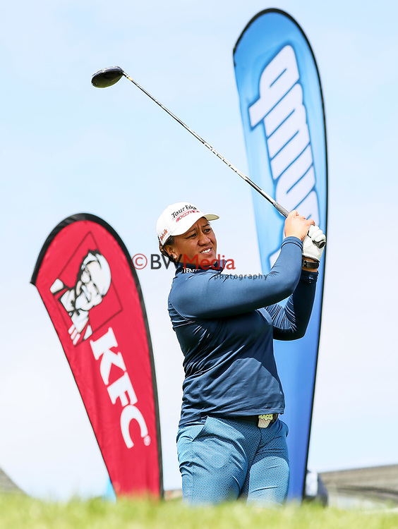Phillis Meti. Anita Boon Pro-am, Remuera Golf Course, Auckland, New Zealand, Sunday 14 October2018. Photo: Simon Watts/www.bwmedia.co.nz