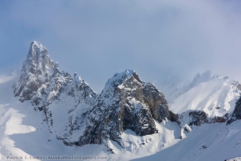 Mount Snowden, Brooks Range, Alaska.
