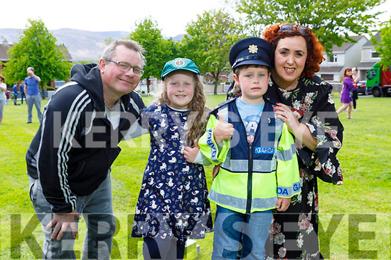 Twins Grace and Adam Roche celebrating their 8th birthday with mom and dad Rebecca and Maurice Roche in Ashgrove Tralee on Saturday